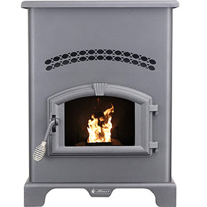 Ashley Hearth Products AP130 2,200 Sq Ft EPA Certified Pellet Stove