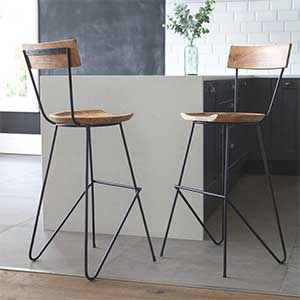 Back Rest or Stool-Only Bar Stool