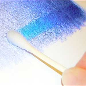 Blend Color Pencil with Rubbing Alcohol