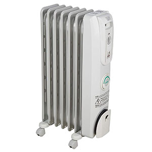 De Longhi 1500 W Portable Oil Filled Heater