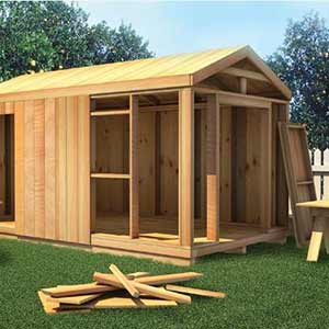 Foundation Material for Storage Sheds