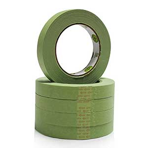 Green Masking Tape for Automotive and Industrial Painting