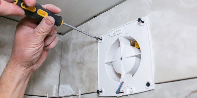 How to Replace Bathroom Exhaust Fan Easy for Beginner