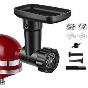 InnoMoon Food Meat Grind Attachment for Kitchen Stand