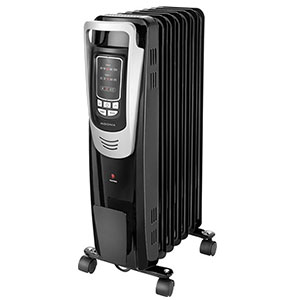 Insignia 1500 Watts Black Oil Filled Heater