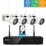 Kittyhawk Pan Tilt Wireless Security Camera System