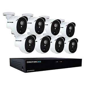 Night Owl XHD502-88P-B 8 Channel 5MP Extreme HD Video Security Camera System
