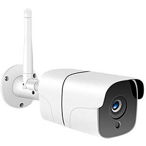 Outdoor Security Camera Wi-Fi Wireless 1080PIP Surveillance Camera