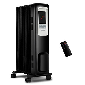 Pelonis Black PLN876 Oil Filled Heater
