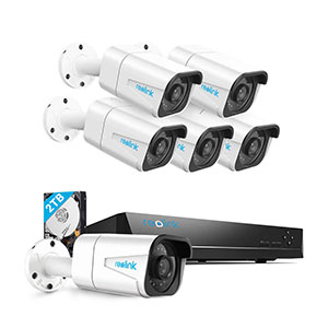 Reolink 4K Poe Home Security Camera System