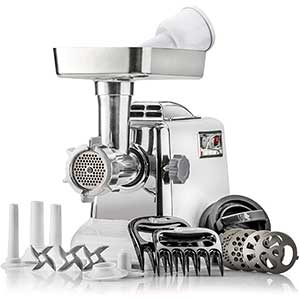 STX Megaforce Classic 3000 Air-Cooled Electric Meat Grinder