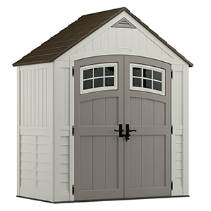 Suncast Gray Large Storage Shed