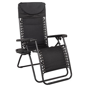 Sundale Outdoor Quilted Zero Gravity Chair