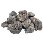 Venetian Princess Brown Lave Rock Fire Pit Rock in Large 40 Pound Bag